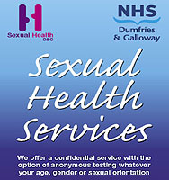 Sexual health advice leaflets and flyers
